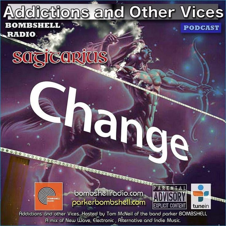 #today Addictions Podcast 342 #bombshellradio #indie #radioshow #classicrock #dj #alternative #newshow Sagittarius you don't have to be Sagittarius to enjoy this show but it does help. Our theme tonight is changes.  Curious and energetic Sagittarius is one of the biggest travelers among all zodiac signs. Their open mind and philosophical view motivates them to wander around the world in search of the meaning of life. Sagittarius is extrovert optimistic and enthusiastic and likes changes…