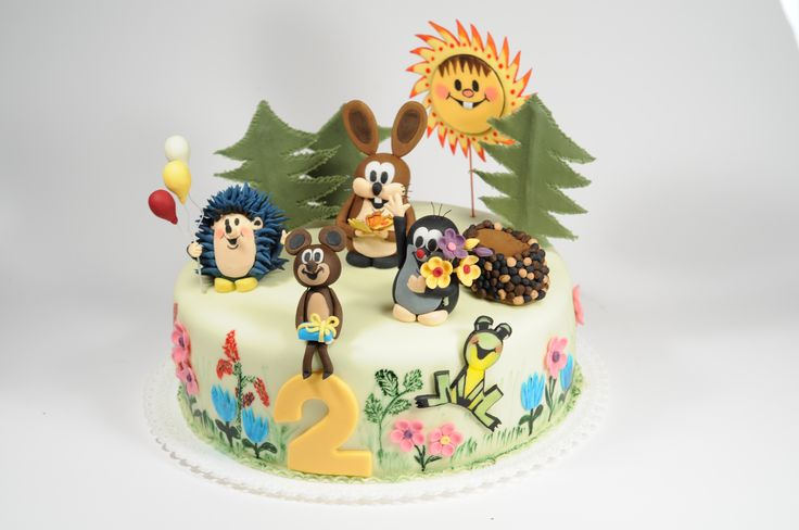 Little Mole & friends cake