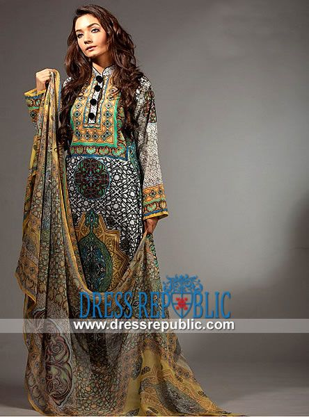 Ladies Lawn Suits 2014 |  Resham Ghar Lawn Collection 2014 with Prices  Shop Latest Party Wear Salwar Suit and Ladies Lawn Designs in Buckinghamshire, Nottingham