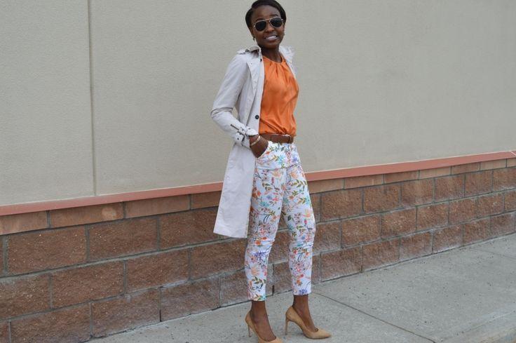 Orange Spring Wear