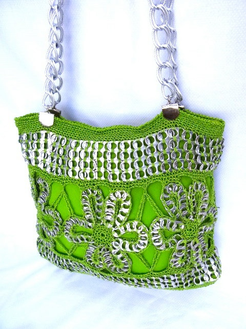 Hey, I found this really awesome Etsy listing at http://www.etsy.com/listing/127735086/green-soda-tap-purse-with-silver-details
