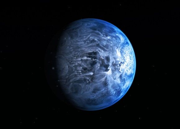 Hubble Confirms Exoplanet Has a Blue Atmosphere