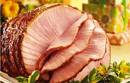 Honey Baked Ham! Put in oven in morning, turn oven off and leave in there.