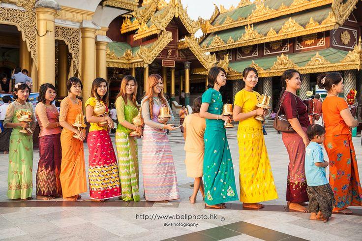 Myanmar Longyi :: Yangon (仰光) Myanmar