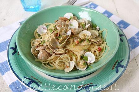 Spaghetti con lupini o vongole