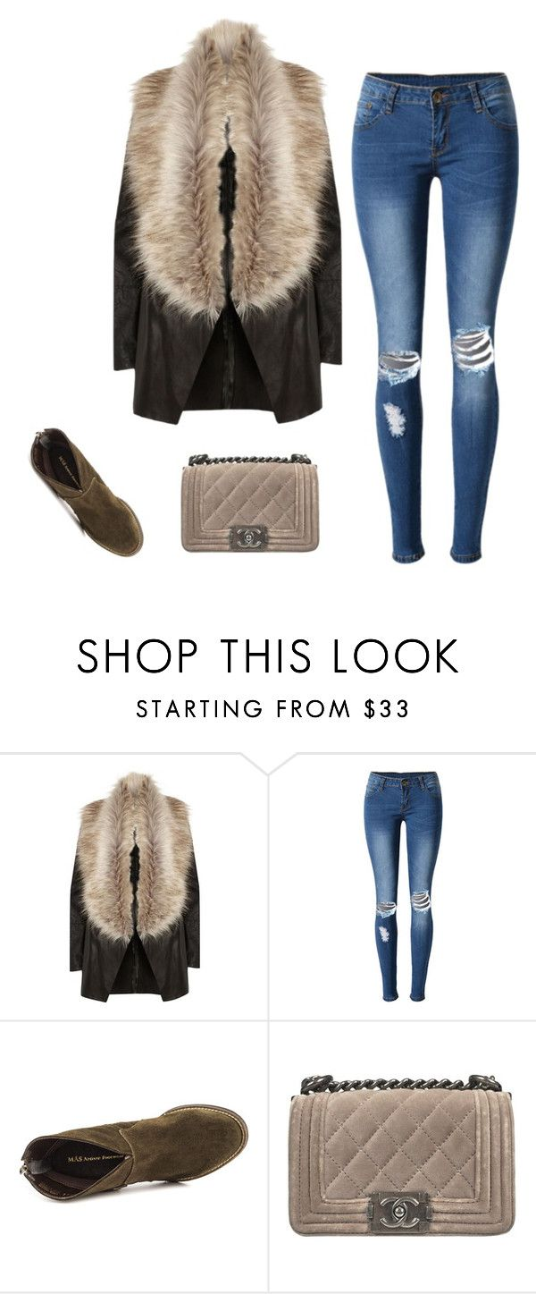 """""""Free time"""" by monika1555 on Polyvore featuring River Island, WithChic, Mas Artisan and Chanel"""