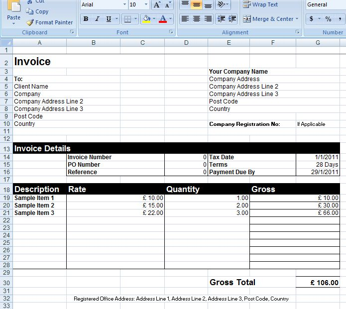 Generic Invoice is commonly known to be an invoice template and is said to be the best suitable invoicing method used by a number of professionals or businesses. The generic invoice template needs not necessarily having any regular or rigid format and also does not need to be very formal in nature.