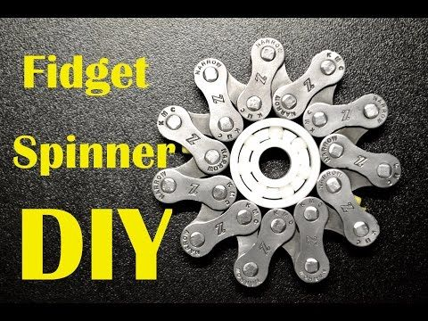 Fidget Spinner DIY: Easiest and Cheapest One I've Done - YouTube