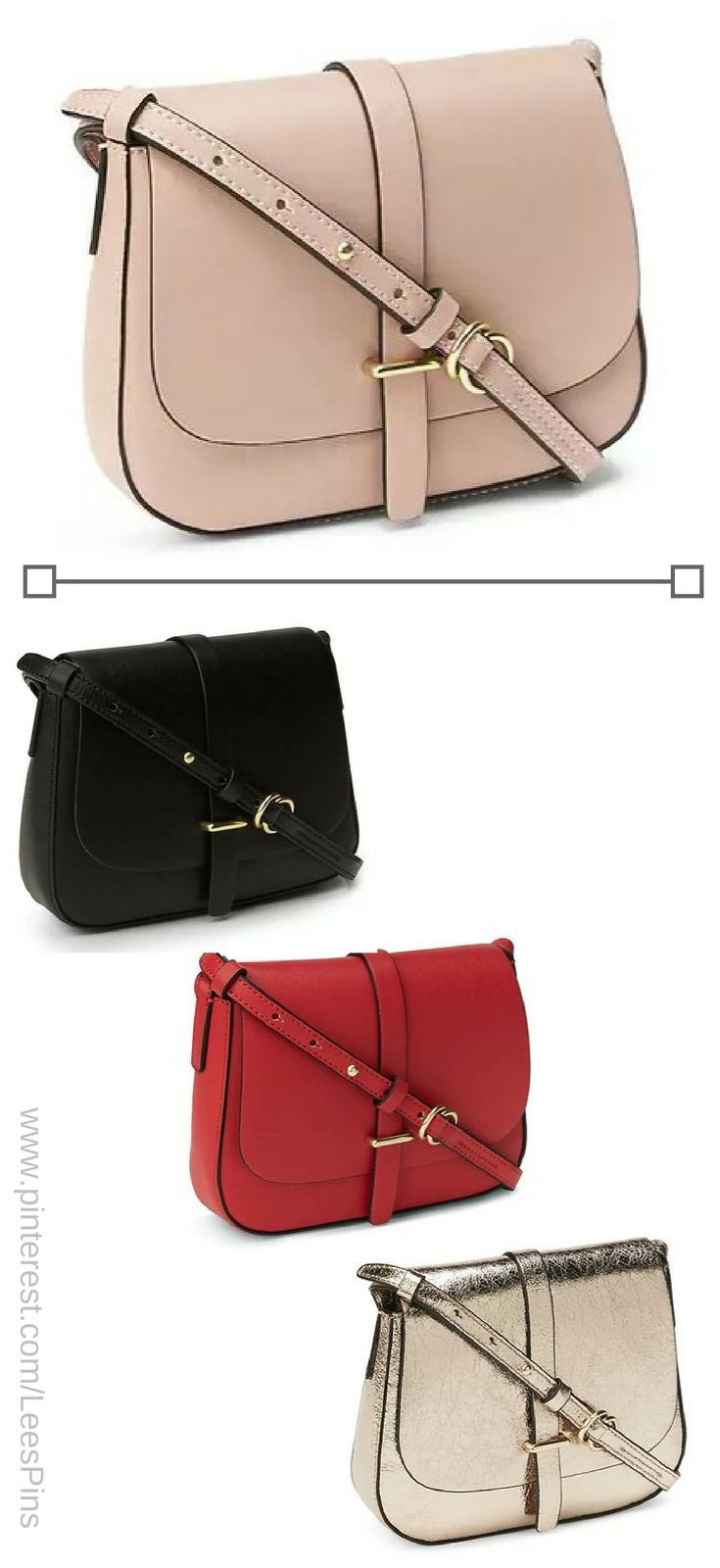 Crossbody Style on Trend 2017-2018.-Get the Look for less from Gap and their Crossbody Saddle Bag -affiliate. ~Of course I love the blush pink!