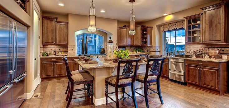 Natural beauty and the latest amenities blend in The Broadmoor Plan by Oakwood Homes in Castle Rock, Colorado. Check out The Home of the Week slideshow at http://www.newhomesource.com/resourcecenter/slideshows/home-of-the-week-broadmoor-plan-by-oakwood-homes.