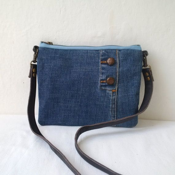 Recycled denim bag by reloveduk