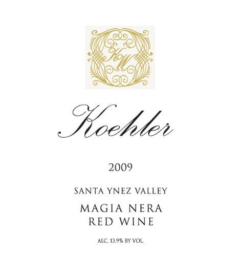 awesome Red Blend | 2009 Koehler Winery Santa Ynez Valley Magia Nera Red Blend 750ml