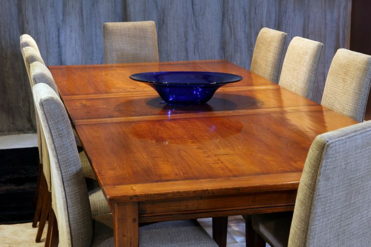 Provincial Extension Table- Single Leaf Cherry Wood