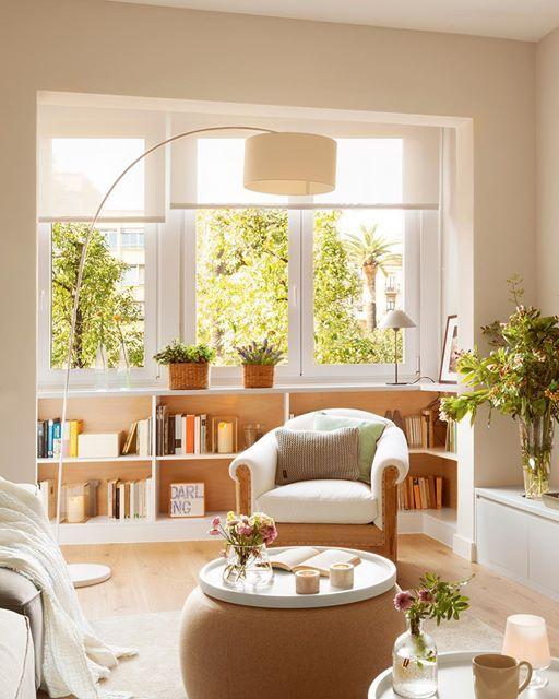 ¿Sabías que es probable que estés desaprovechando gran parte del potencial de tus ventanas? En la web te contamos todo lo que tienen que ofrecerte y cómo sacarles el máximo partido según sus características (link en la bio)  #elmueble #ventana #window #luz #light #decoracion #decoration #ideas #tips #almacenaje #storage