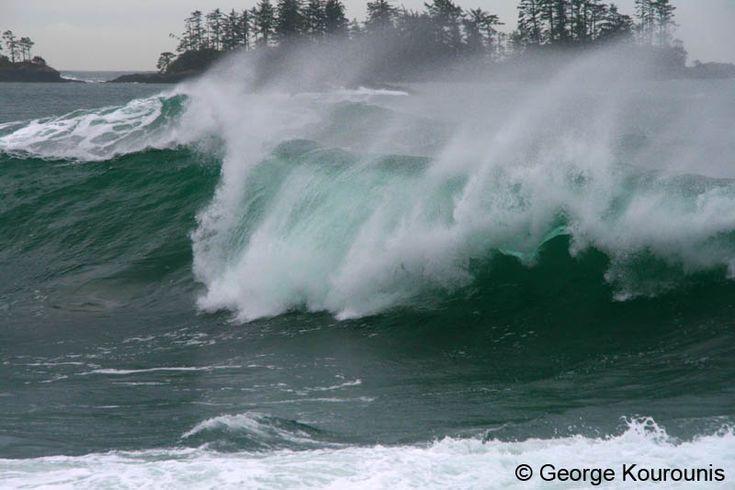 """""""Winter storm watching in Tofino, British Columbia."""" #explorebc"""