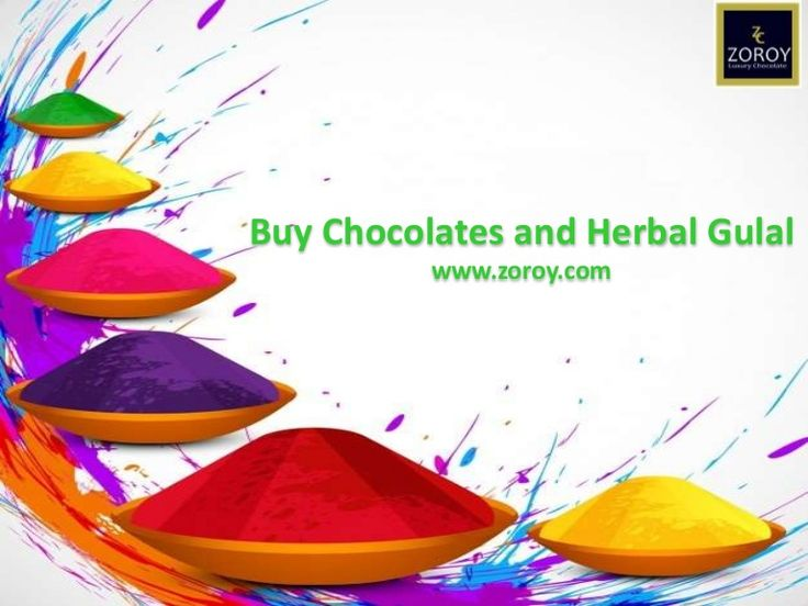 Buy some special gift in this Holi Season like Happy Holi Message box with Herbal gulal color, Chocolates gift basket and many more to each other.  Zoroy Provides 10% off above 1400 INR shopping to every customer. More Information https://www.slideshare.net/zoroychocolate/buy-happy-holi-message-box-with-herbal-gulal-color-zoroy