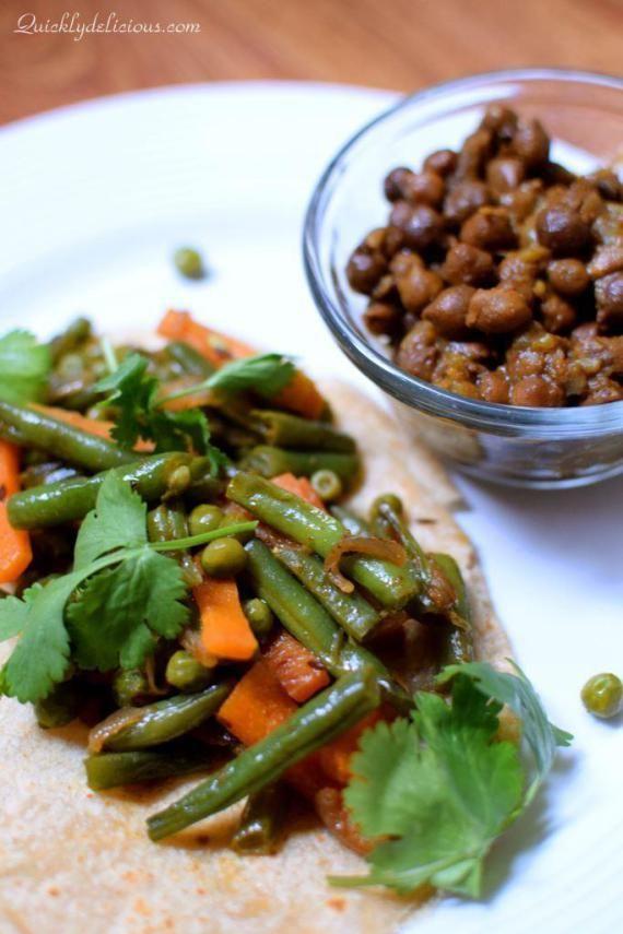 green beans carrot stir fry