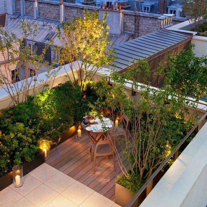 les 25 meilleures id es concernant terrasse sur le toit. Black Bedroom Furniture Sets. Home Design Ideas