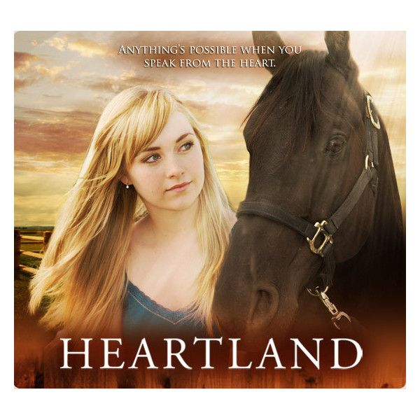 Heartland - CBC Television ❤ liked on Polyvore featuring heartland