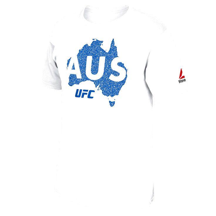 UFC 193 Reebok Australia T-Shirt - White - $22.39