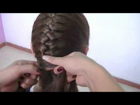 Peinados infantiles, para fiesta paso a Paso. Trenzas y Peinados. - YouTube