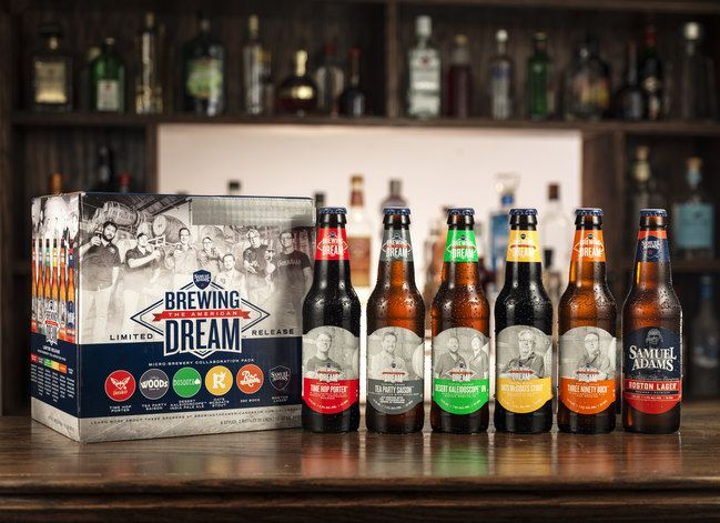 [Press Release:] Five Craft Brewers from Across the Country Join Samuel Adams to Create a Unique Collaboration Pack of Beers in Support of Entrepreneurship. (Boston, MA) – To celebrate the in…