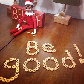 The Ballard Bunch: {elf on the shelf - kit kat week 2}