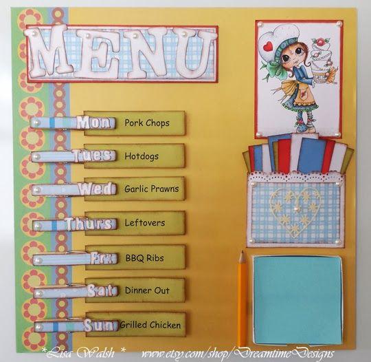 Dreamtime Designs: Menu Board