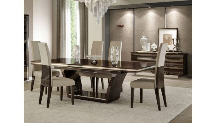 Livorno Italian Modern Dining Table Set In 2020 Dining Room Furniture Modern Modern Dining Table Contemporary Dining Room Sets