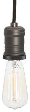 Teardrop Filament Bulb - modern - light bulbs - Pottery Barn