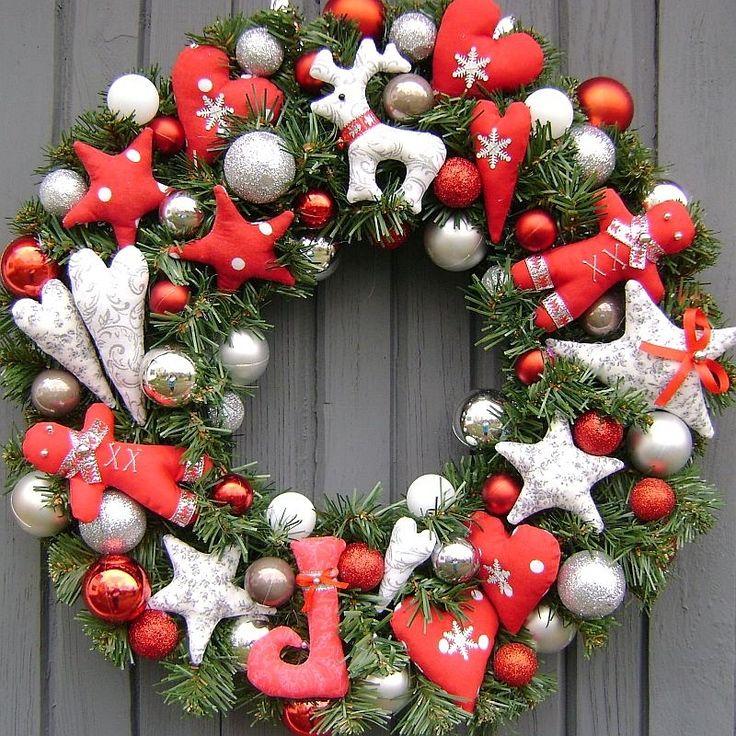 vianočný veniec po tretie