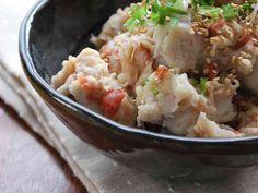 里芋のウメ~ぇサラダ♡の画像