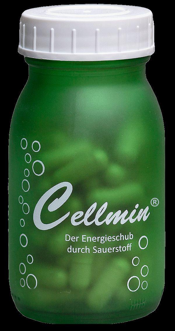 Nahrungsergänzungsmittel Cellmin - Der Energieschub durch Sauerstoff   © AlpenVital  Die in Cellmin® enthaltene, aus Algen gewonnene, Alginsäure erhöht auf natürliche Art und Weise die Sauerstoffaufnahme in Ihren Gehirn-, Muskel- und anderen Körperzellen und sorgt so für einen Energieschub. Mit mehr Sauerstoff im Blut sind Sie leistungsfähiger bei der Arbeit, beim Sport und bei Freizeitaktivitäten.