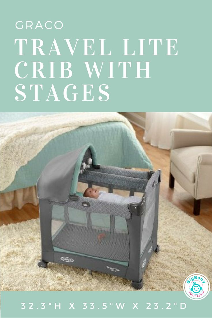 For parents who want to keep their sleeping infants closer longer, Graco Travel Lite Crib with Stages provides the perfect spot.
