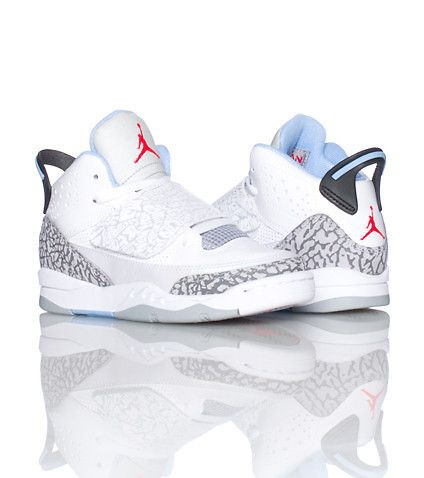 JORDAN KIDS SON OF MARS SNEAKER White
