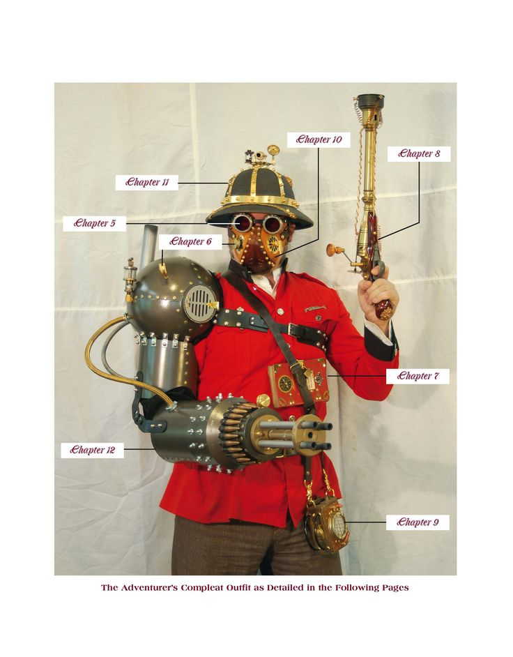 create your own steampunk gear gadgets and gizmos diy