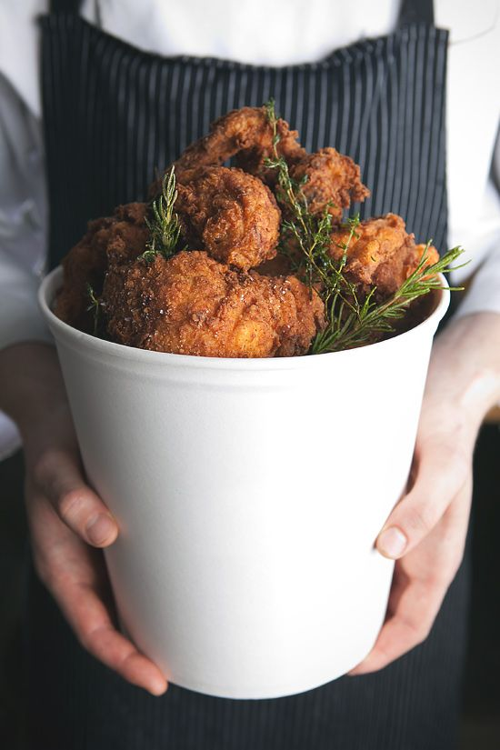 It may be a little early in the day, but; FRIED CHICKEN.  Thank you, @Gabriel Li, for this little lovely.