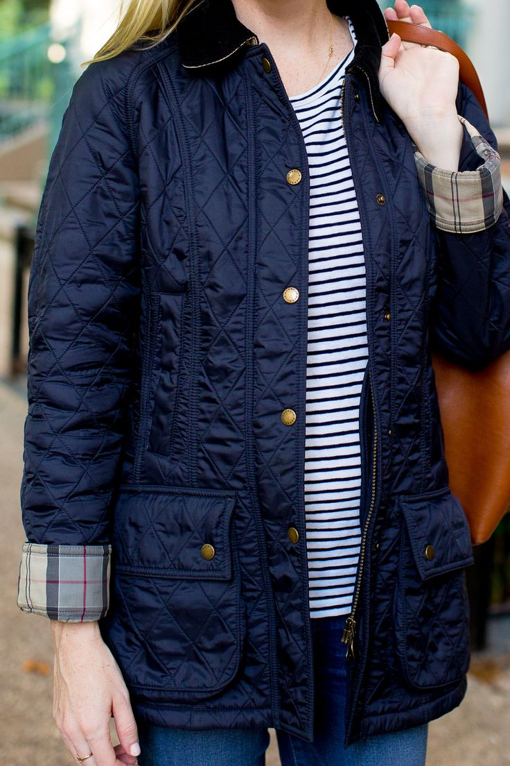 Barbour Quilted Beadnell By Kelly In The City
