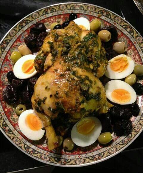 Kip uit de oven #maroc