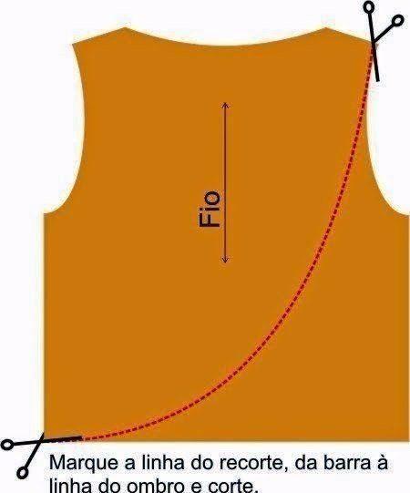 Шьем футболку с длинным рукавом необычного кроя