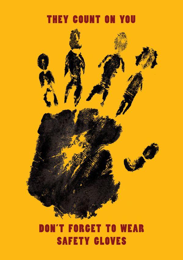 Zero Harm   Hand Poster