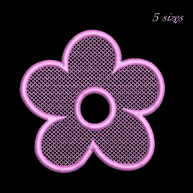 MIni flower embroidery design, Flowers pattern, instant download spring by GretaembroideryShop on Etsy