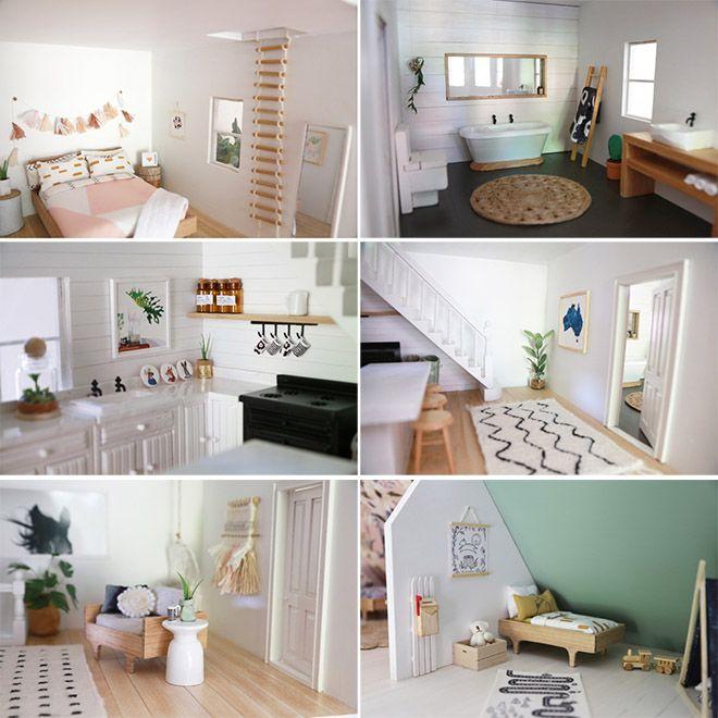 14 modern day DIY dolls house renovations | Mum's Grapevine