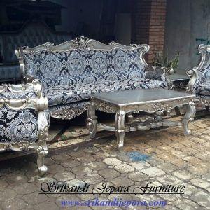 Set Sofa Tamu Rose