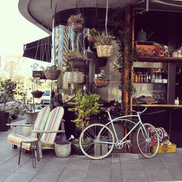Instagrammer @_piuma shared this nice photo of Mocan and Green Grout cafe in NewActon, Canberra