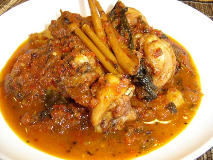 Ayam Rica-rica, spicy chicken from Manado, North Sulawesi