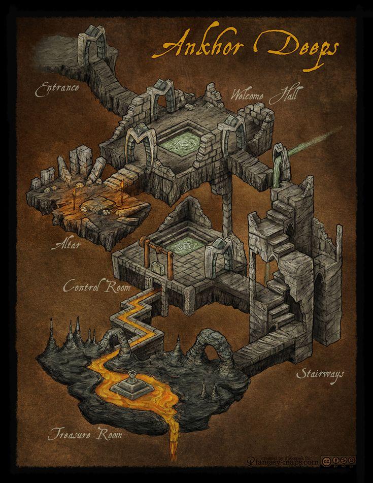 One Page Dungeon Contest 2012 by *Djekspek on deviantART