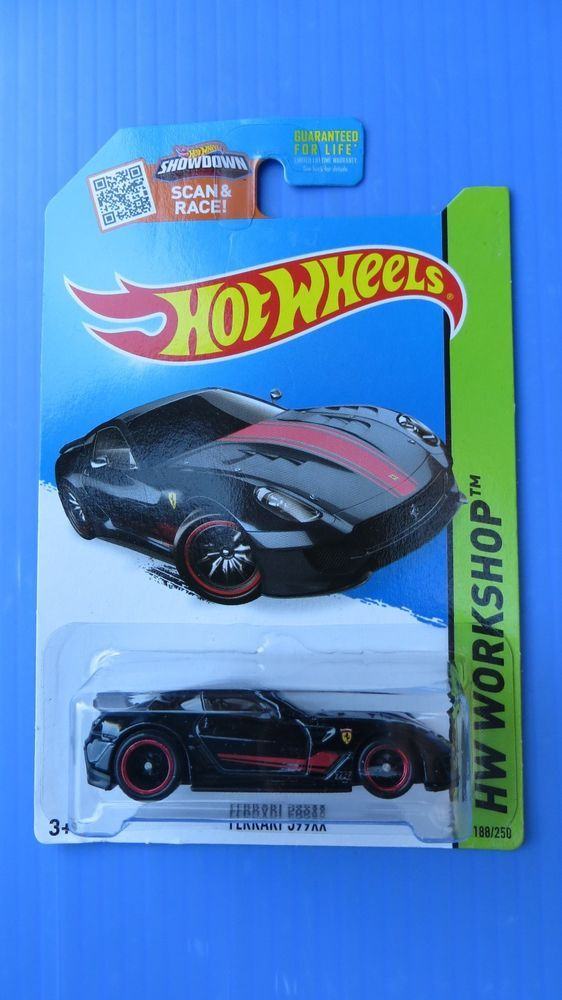 2015 hot wheels super treasure hunt ferrari 599 xx rare hotwheels ferrari - Rare Hot Wheels Cars 2015