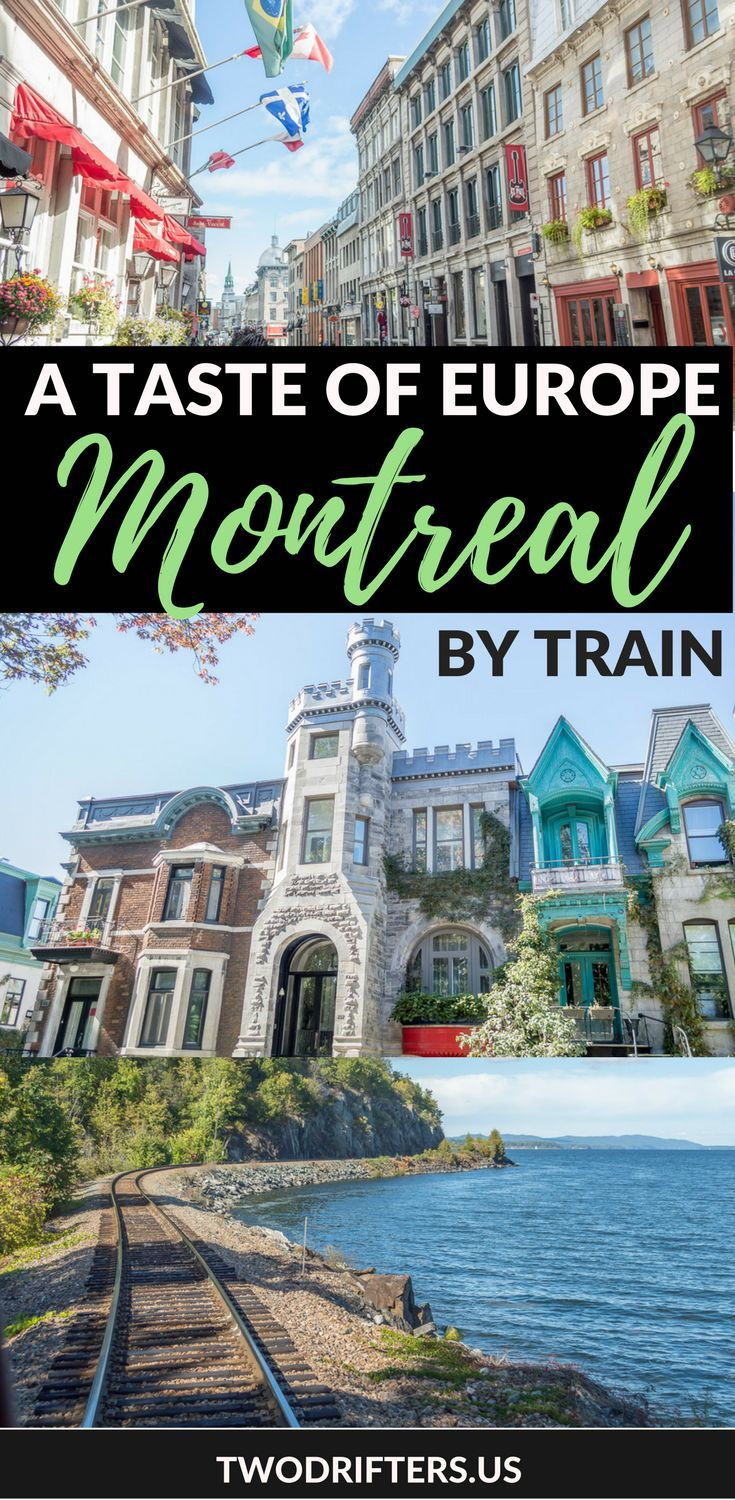 Montreal is a great place for a quick weekend getaway. This romantic city is just a train journey away on Amtrak's Adirondack line.